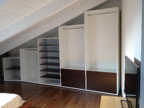 Armadi e cabine armadio su misura cucine su misura a - Serrandine per mobili ...